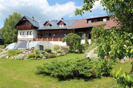 Silvestr na hor�ch - �umava - Penzion v Albrechtic�ch