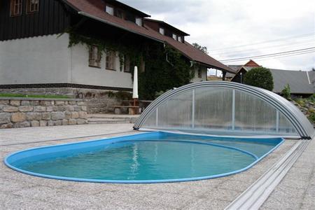 Ubytování Jizerské hory - Penzion v Albrechticích - bazén