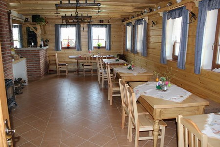 Ubytování Jizerské hory - Penzion v Albrechticích - společenská místnost