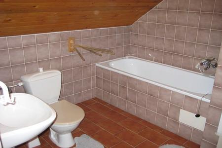 Ubytování Jizerské hory - Penzion v Albrechticích - koupelna